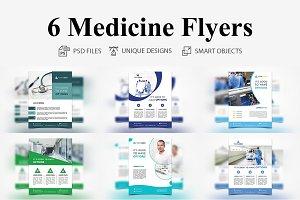 6 Medicines Flyers