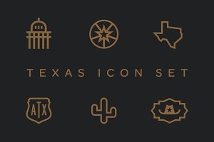 Texas Icon Set