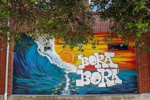 Bora Bora Graffiti