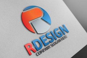 Rdesign R Letter
