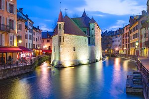 Annecy, called Venice of the Alps