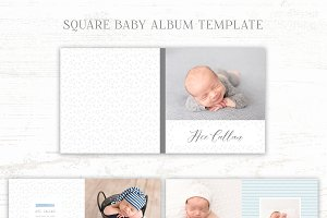 Baby Boy Album Template