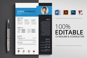Creative Word CV Resume