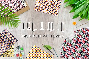 Islamic inspired seamless patterns