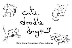 Cute Doodle dogs