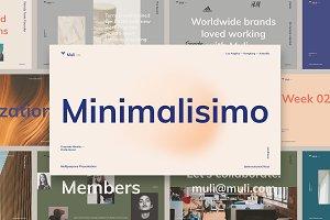 Muli - Minimalist Presentation