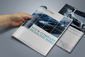 Automobile Brochure Template