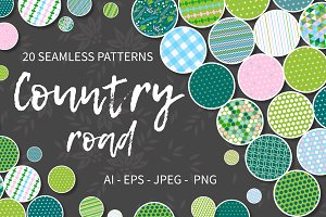 COUNTRY ROAD Pattern collection