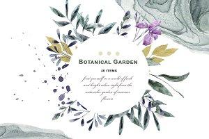 Botanical Garden Watercolor Set