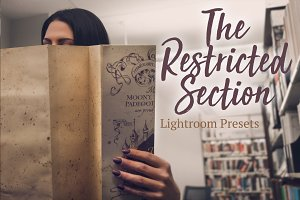 Restricted Section - LR & PS Presets