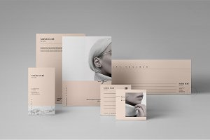 Brand Stationery Pack • Noémi