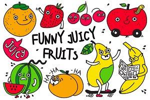 Funny Juicy Fruits
