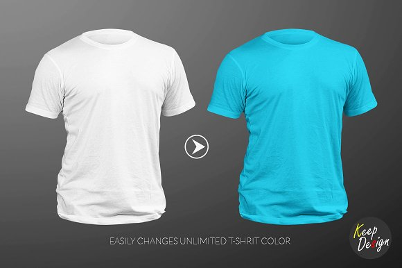 Nike T Shirt Mockup