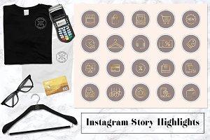 E-commerce Instagram Story Icons