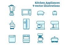 Kitchen Appliance Illustration