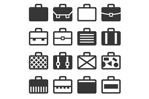 Case Icons Set