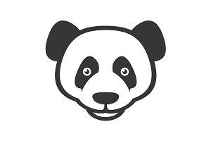 Panda Logo Sign