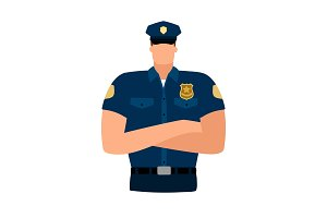 Policeman avatar icon
