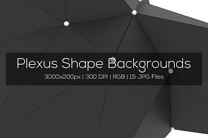 Plexus Shape Backgrounds