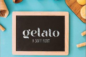 Gelato Soft font