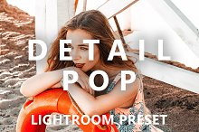 Detail Pop Mobile Lightroom Preset by  in Actions