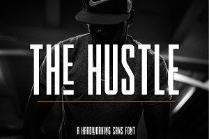 The Hustle Font