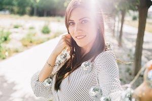 sunny portrait