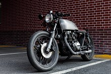 Vintage motorcycle cafe racer style. by  in Industrial