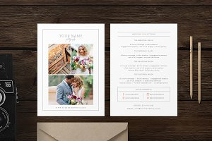 Rack Card Pricing Guide Template