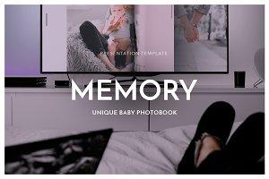 MEMORY Powerpoint Template + Bonus