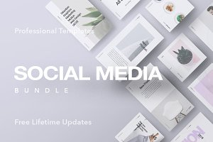 1200+ Posts | Social Media iBundle