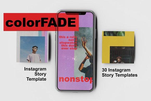 colorFADE Instagram Story Template