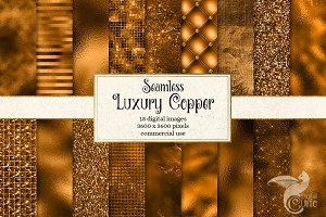 Luxury Copper Textures