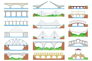 Bridge vector urban crossover