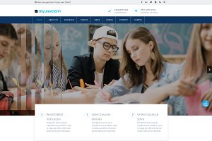 TPG University Education Theme