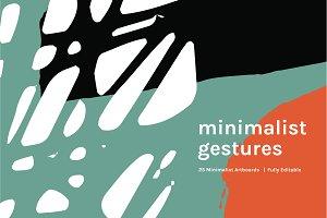 Minimalist Gestures | Artboards