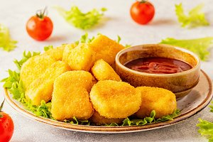 Chicken breast nuggets