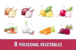 Polygonal vegetables