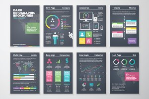 Infographic Brochure 2 Dark Version