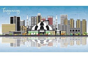 Tangerang Indonesia City Skyline