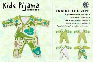 Kids Pijama mockup