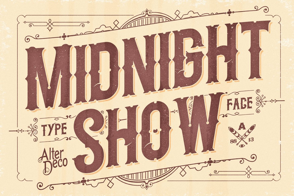 20 Old School Fonts for Creating Vintage Sign Art ~ Creative Market Blog