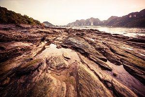 Rocksy coastline
