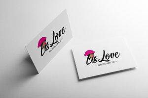 Eis Love Logo Design