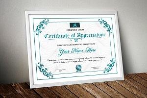 Certificate Template - V08
