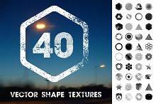 40 Vector Shape Textures