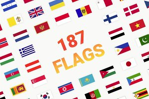 187 World Flags