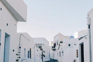 Alley in Greece