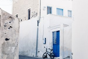 Bicycle in Greece