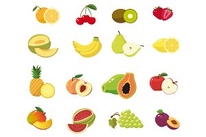 Fresh fruit collection